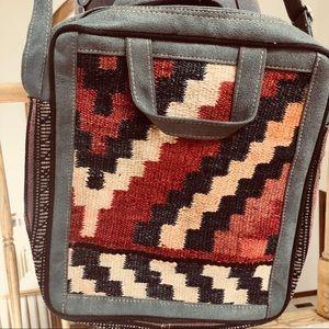 Handbags - Persian Handwoven Wool Messenger Bag